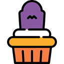 food, cupcake, baked, Food And Restaurant, muffin, Dessert, sweet, Bakery Icon