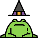 Animals, Toad, spooky, scary, fear, halloween, horror, Terror Icon