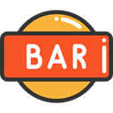 Bar, sign, drinks, Signaling Tomato icon