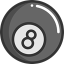 sport, Casino, Billiard, Bet, gambling, Sports And Competition DimGray icon