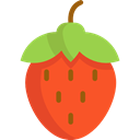 food, vegan, Healthy Food, Food And Restaurant, strawberry, organic, diet, vegetarian, Fruit Tomato icon