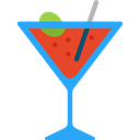 party, drinking, straw, Alcoholic Drinks, Food And Restaurant, Alcohol, food, cocktail, leisure Black icon
