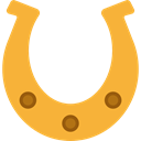 miscellaneous, horse, luck, western, Horseshoe, Tools And Utensils, Ornamental, Good Luck Goldenrod icon