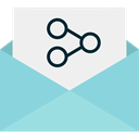 Communications, mail, share, interface, envelopes, Email, envelope, Multimedia, Message Icon