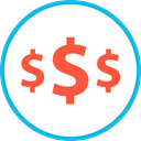 Money, investment, Dollar Symbol, Business And Finance Tomato icon