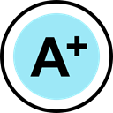 school, test, education, exam, Grades PaleTurquoise icon
