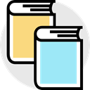 Books, Library, education, reading, learning PaleTurquoise icon
