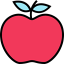 Apple, food, vegan, Healthy Food, Food And Restaurant, Fruit, organic, diet, vegetarian Tomato icon