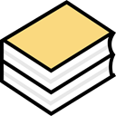 study, Literature, Books, Library, education, reading, Book Khaki icon