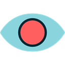 visible, Visibility, Seo And Web, view, medical, interface, Eye SkyBlue icon