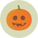 pumpkin, horror, Terror, spooky, halloween, scary, fear, Frightening LightGray icon