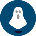 horror, Terror, spooky, scary, Ghost, halloween, fear, Frightening Icon