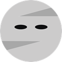 Avatar, halloween, mummy, fear, Frightening, horror, Terror, spooky, scary LightGray icon