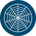 Terror, spooky, scary, fear, halloween, horror, cobweb, Spider Web, Frightening Icon