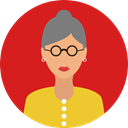 Avatar, Social, user, woman, profile Icon
