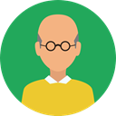 Man, user, profile, Avatar, Social SeaGreen icon