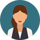 user, woman, profile, Avatar, Social Icon