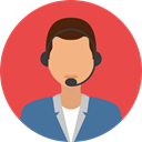 user, profile, Avatar, Social, Telemarketer Tomato icon