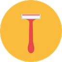 Beauty, Razor, fashion, shave, shaving, Grooming, Beauty Salon SandyBrown icon
