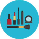 Beauty, Beauty Salon, Lipstick, Makeup, fashion, Grooming LightSeaGreen icon