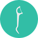 dental, hygiene, Health Care, Personal Care, Dentist, medical, Dental Floss, Healthcare And Medical LightSeaGreen icon