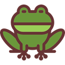frog, Animals, Wild Life, Amphibian, Animal Kingdom, Batrachian SaddleBrown icon