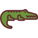 Crocodile, Animal Kingdom, Animal, zoo, Animals, Wild Life Black icon