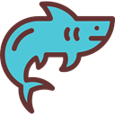 Aquatic, Sea Life, Animal, shark, Animals, Aquarium MediumTurquoise icon