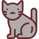 Cat, pet, Animals, Animal Kingdom DarkGray icon