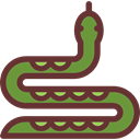 snake, zoo, Animals, reptile, Wild Life, Animal Kingdom SaddleBrown icon