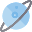 planet, miscellaneous, science, education, saturn, Astronomy, solar system SkyBlue icon