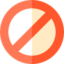 cancel, Disabled, forbidden, shapes, symbol, prohibition, Signaling Icon