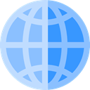 Maps And Flags, Planet Earth, Maps And Location, global, Geography, worldwide LightSkyBlue icon
