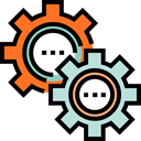 cogwheel, Tools And Utensils, Seo And Web, Gear, settings, configuration Black icon