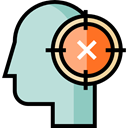 Thinking, Improve, Head Outline, Seo And Web, Smart, people, head PowderBlue icon