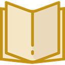 reading, study, Literature, Book, Books, Library, education, open book Bisque icon