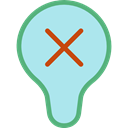 Light bulb, Idea, electricity, illumination, technology, electronics, invention PaleTurquoise icon