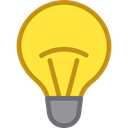 Light bulb, Idea, electricity, illumination, technology, electronics, invention Icon