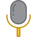 technology, electronics, vintage, sound, Microphone, radio, Voice Recording Icon
