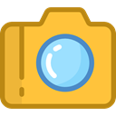 digital, technology, electronics, picture, interface, photograph, photo camera SandyBrown icon