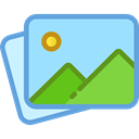 image, photo, landscape, Files And Folders, picture, photography, interface LightSkyBlue icon