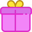 birthday, gift, present, surprise, Christmas Presents, Birthday And Party Violet icon