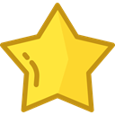 Favorite, Favourite, interface, rate, shapes, signs, Shapes And Symbols, star Gold icon