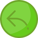 Arrows, reply, Reload, Orientation, interface, Direction, ui, Multimedia Option YellowGreen icon