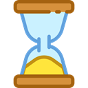 Clock, time, Hourglass, waiting, Tools And Utensils, Time And Date Black icon