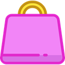 Business, commerce, shopping, Bag, shopping bag, Supermarket, Shopper, Commerce And Shopping Violet icon