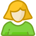 Social, people, user, profile, Avatar YellowGreen icon
