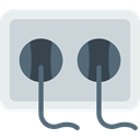 electrical, technology, electronics, Tools And Utensils, Construction And Tools, Connection, Socket, plug, plugin LightGray icon
