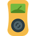 power, industry, technology, electronics, Energy, Measuring, Voltmeter SandyBrown icon