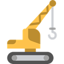 Hook, Construction, lift, Crane, Construction And Tools Black icon